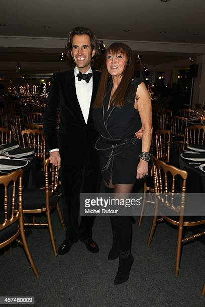 Pierre Pelegri and Babeth Djian attend the Annual Charity Dinner Hosted By The AEM Association Children Of The World For Rwanda on December 17 2013...