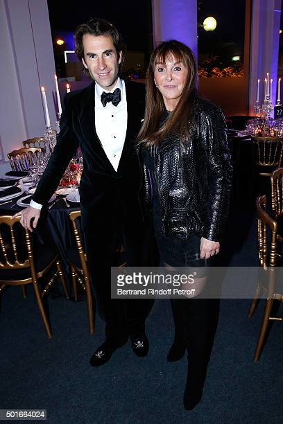 Pierre Pellegry and Babeth Djian attend the Annual Charity Dinner hosted by the AEM Association Children of the World for Rwanda Held at Espace...