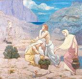 Pierre Puvis de Chavannes The Shepherd's Song oil on canvas 41 1/8 x 43 1/4 in Metropolitan Museum of Art New York