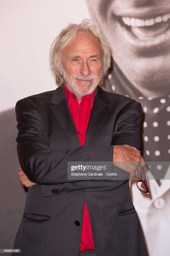 Pierre Richard attends the Tribute to Jean Paul Belmondo and Opening Ceremony of the Fifth Lumiere Film Festival, in Lyon.