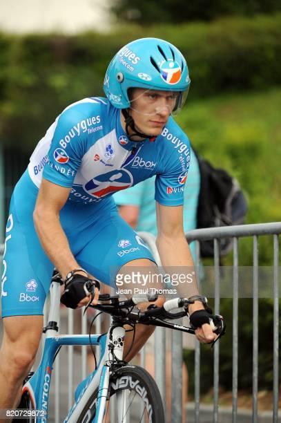 Pierre ROLLAND Bouygues Telecom Prologue du Dauphine Libere 2010 contre la montre 6 km a Evian