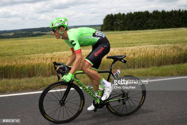 Pierre Rolland of France riding for Cannondale Drapac during stage three of the 2017 Le Tour de France a 2125km stage from Verviers to Longwy on July...