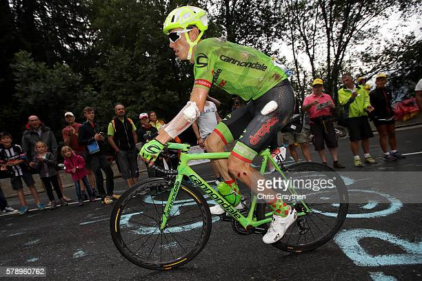 Pierre Rolland of France riding for Cannondale Drapac Team rides during stage ninteen of the 2016 Le Tour de France a 146km stage from Albertville to...