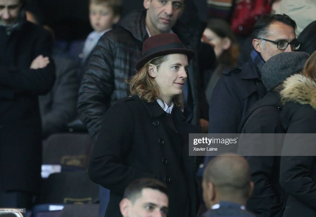<a gi-track='captionPersonalityLinkClicked' href=/galleries/search?phrase=Pierre+Sarkozy&family=editorial&specificpeople=4279948 ng-click='$event.stopPropagation()'>Pierre Sarkozy</a> attends the French Ligue 1 match between Paris Saint-Germain and Stade Rennais at Parc des Princes on April 29, 2016 in Paris, France.