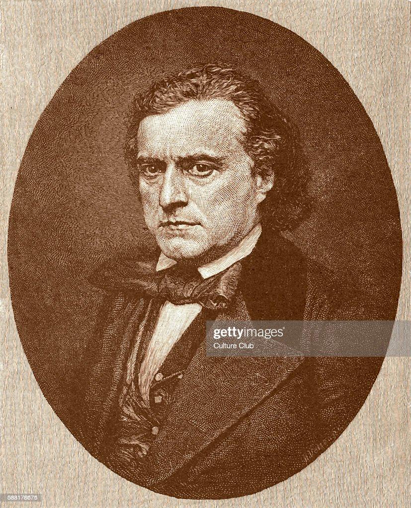 Pierre Soulé portrait after daguerreotype c 1851 French born US politician and Louisiana diplomat 31 August 1801 – 26 March 1870