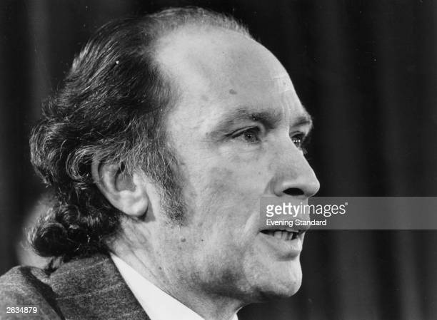 Pierre Trudeau the Canadian Prime Minister
