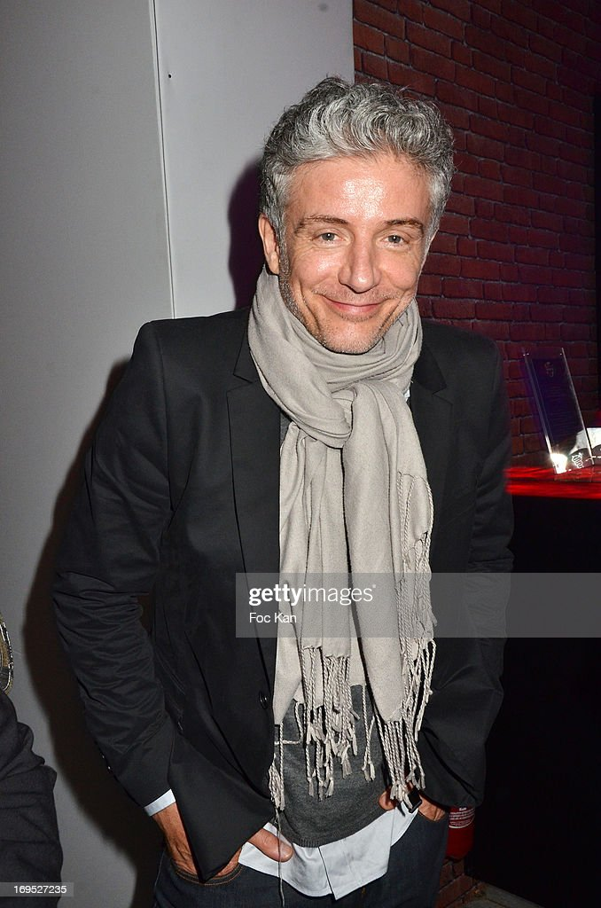 Pierre Zeni attends The Queer Film Awards 2013 Cocktail at Terrazza Martini - The 66th Annual Cannes Film Festival on May 26, 2013 in Cannes, France.