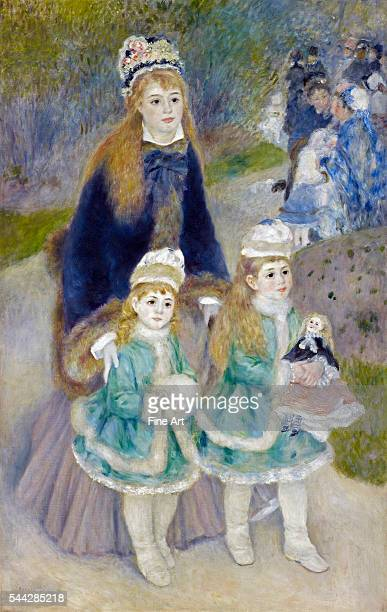 PierreAuguste Renoir Mother and Children 187476 oil on canvas 1702 x 1083 cm Frick Collection New York
