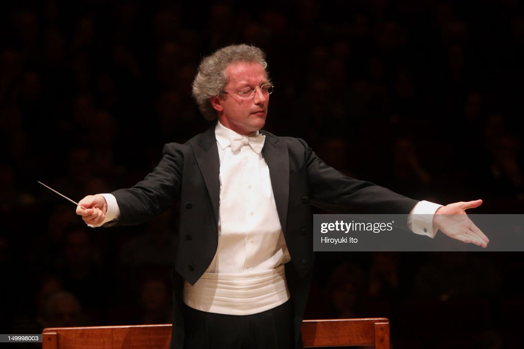 Pierre-Laurent Aimard performing Schumann's 'Piano Concerto in A Minor' with the Cleveland Orchestra led by Franz Welser-Most at Carnegie Hall on Saturday night, February 5, 2011.