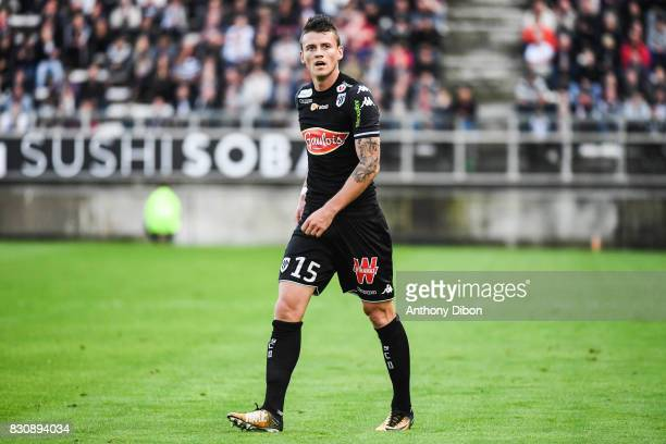 Pierrick Capelle of Angers during the Ligue 1 match between Amiens SC and Angers SCO at Stade de la Licorne on August 12 2017 in Amiens