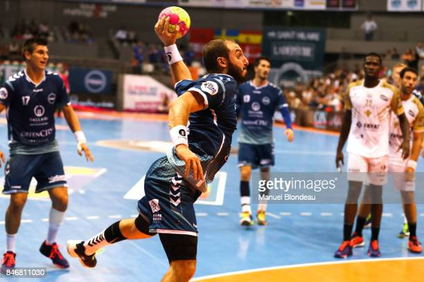 Pierrick Chelle of Toulouse during Lidl Star Ligue match between Fenix Toulouse and Pays D'aix Universite Club on September 13 2017 in Toulouse France
