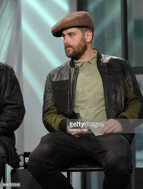Piers Agget of Rudimental attends Build series to discuss the single 'Sun Comes Up' at Build Studio on September 18 2017 in New York City