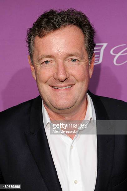 Piers Morgan arrives at The Hollywood Reporter's 3rd Annual Academy Awards nominees night at Spago on February 2 2015 in Beverly Hills California