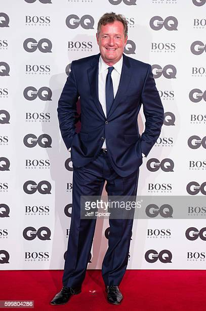 Piers Morgan arrives for GQ Men Of The Year Awards 2016 at Tate Modern on September 6 2016 in London England