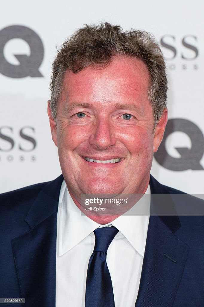 Piers Morgan arrives for GQ Men Of The Year Awards 2016 at Tate Modern on September 6, 2016 in London, England.