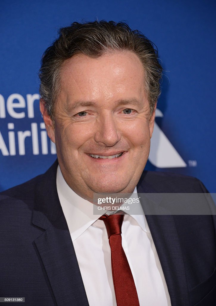 Piers Morgan arrives for the Hollywood Reporter's 4th Annual Academy Awards Nominees Night in Beverly Hills, California, February 8, 2016 / AFP / CHRIS DELMAS