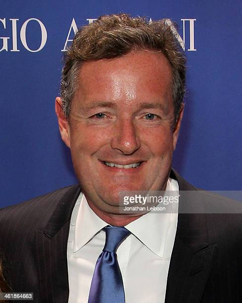 Piers Morgan attends the 3rd annual Sean Penn Friends HELP HAITI HOME Gala benefiting J/P HRO presented by Giorgio Armani at Montage Beverly Hills on...