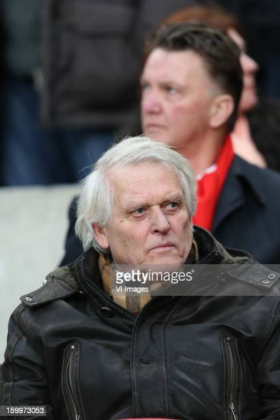 Piet Keizer of Ajax during the Dutch Eredivise match between Ajax Amsterdam and Feyenoord at the Amsterdam Arena on January 20 2013 in Amsterdam The...