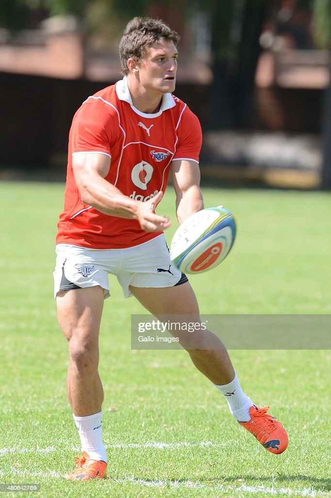 Piet van Zyl of the Bulls in action during the Vodacom Bulls training session at Loftus Versveld Stadium on March 26, 2014 in Pretoria, South Africa.