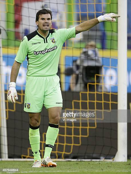 Piet Velthuizen of Vitesse during the friendly match between Vitesse Arnhem and Chelsea at Gelredome on July 30 2014 in Arnhem The Netherlands