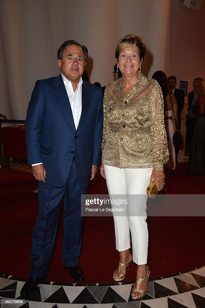 Pieter Bogaardt and wife attend the Fight Aids Charity Gala In Monte-Carlo on July 10, 2015 in Monaco, Monaco.