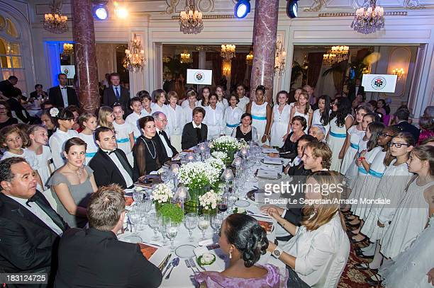 Pieter Bogaardt member of the Board of Directors of AMADE MONDIALE Charlotte Casiraghi Jerome Froissart Secretary General of AMADE MONDIALE Princess...