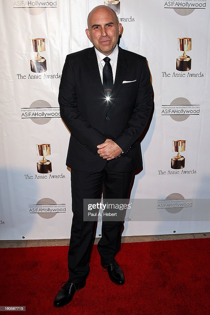 Pieter Kaufman arrives at the 40th Annual Annie Awards held at Royce Hall on the UCLA Campus on February 2, 2013 in Westwood, California.