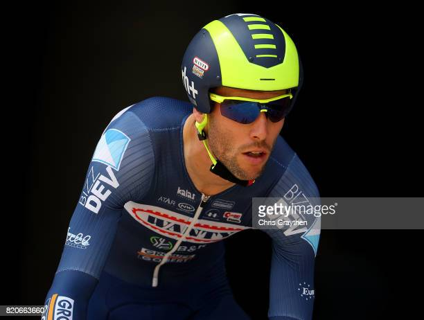 Pieter Vanspeybrouck of Belgium and Wanty Groupe Gobert in action during stage twenty of Le Tour de France 2017 on July 22 2017 in Marseille France