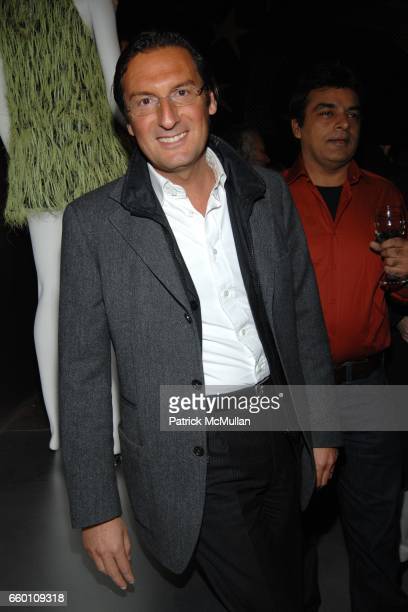 Pietro Beccari attends LOUIS VUITTON Tribute to STEPHEN SPROUSE Exhibition Preview at Deitch Projects on January 8 2009 in New York City