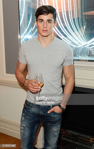 Pietro Boselli arrives at the closing party of 'Les 3 Etages By Dom Perignon' with Sunday Times Style on May 13 2015 in London England