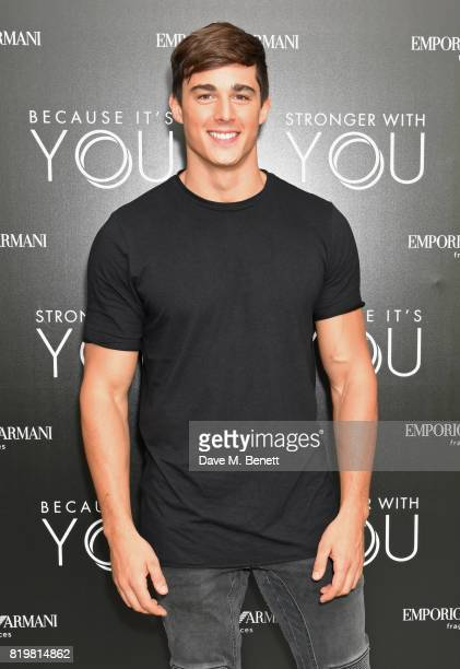 Pietro Boselli attends the Emporio Armani You Fragrance launch at Sea Containers on July 20 2017 in London England