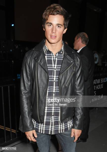 Pietro Boselli attends the GQ Men Of The Year Awards after party at the Tate Modern on September 5 2017 in London England