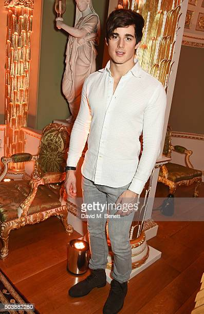 Pietro Boselli attends the London Collections Men AW16 opening party hosted by the British Fashion Council and GQ Editor Dylan Jones at Spencer House...