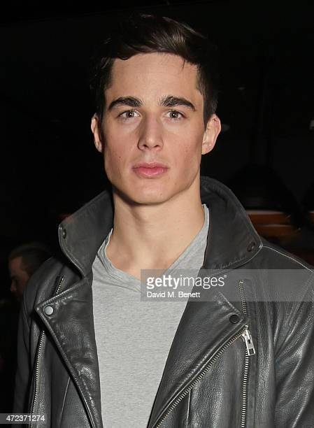 Pietro Boselli attends the St Martins Lane hotel relaunch party at Blind Spot on May 6 2015 in London England