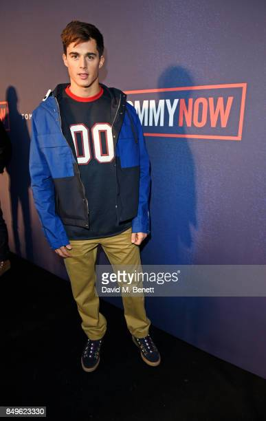 Pietro Boselli attends the Tommy Hilfiger TOMMYNOW Fall 2017 Show during London Fashion Week September 2017 at The Roundhouse on September 19 2017 in...