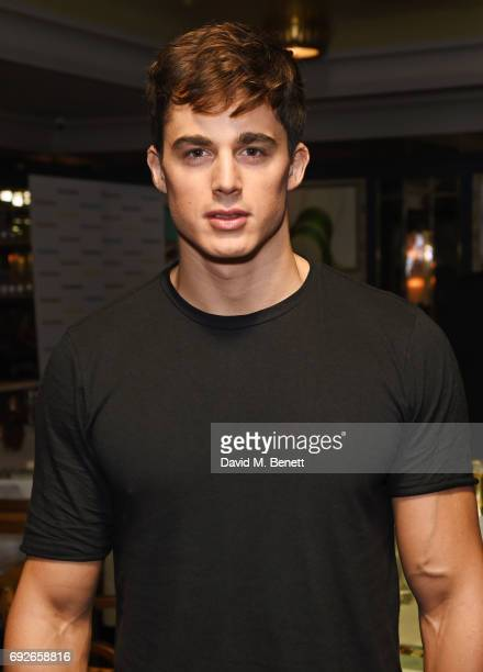 Pietro Boselli attends the Wonderland Summer Issue dinner hosted by Madison Beer at The Ivy Soho Brasserie on June 5 2017 in London England