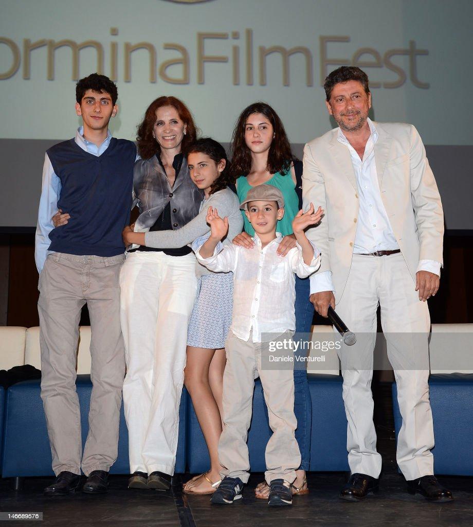 Premio Cariddi Alla Famiglia Castellitto - 58th Taormina Film Fest