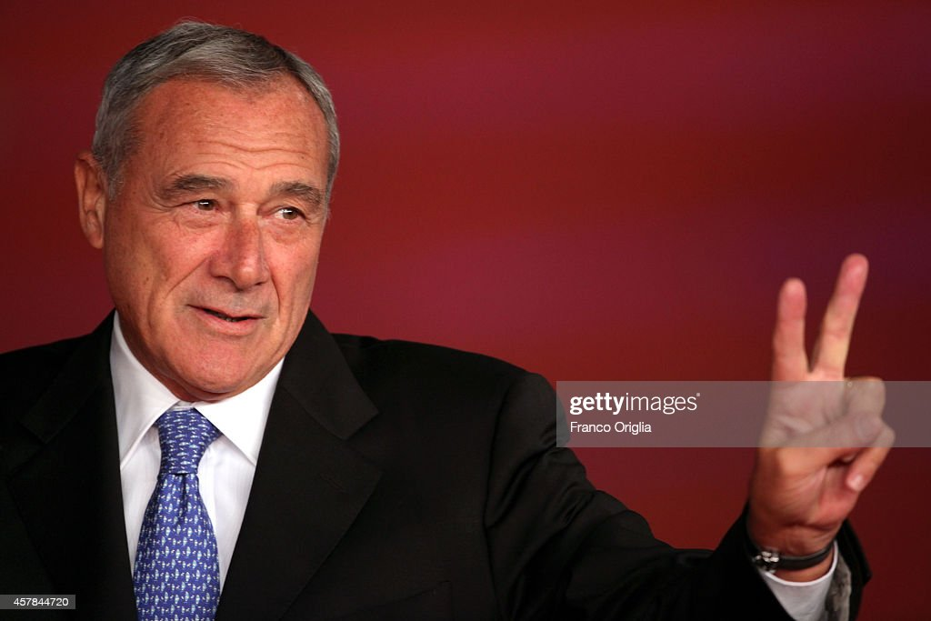 Pietro Grasso attends the Award Ceremony Red Carpet during the 9th Rome Film Festival on October 25, 2014 in Rome, Italy.
