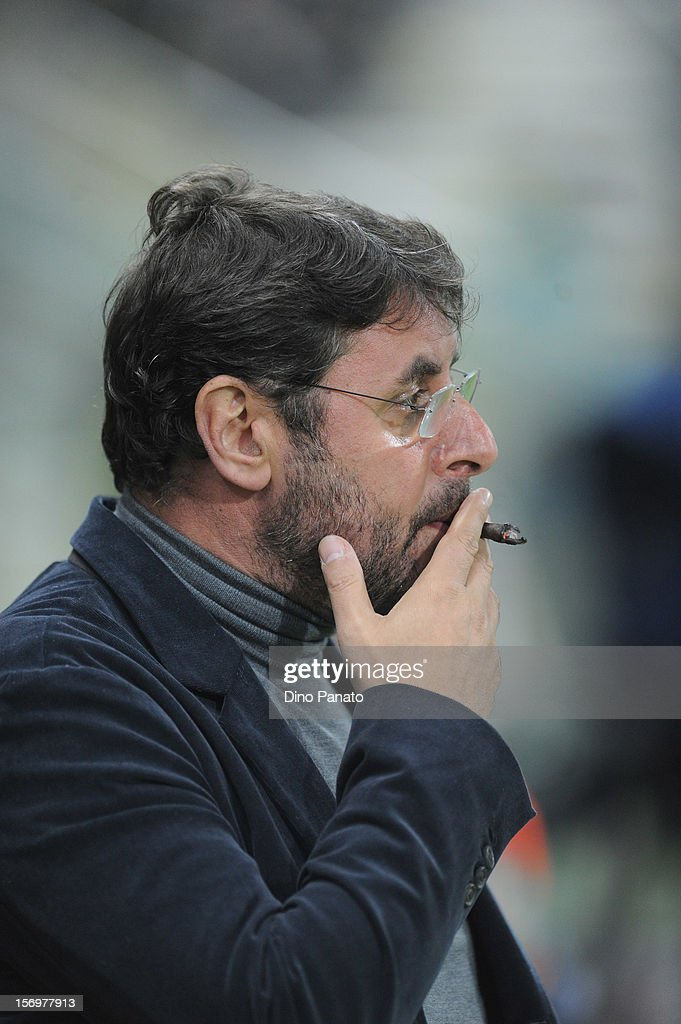 Pietro Leonardi general manager of Parma FC looks on during the Serie A match between Parma FC and FC Internazionale Milano at Stadio Ennio Tardini on November 26, 2012 in Parma, Italy.