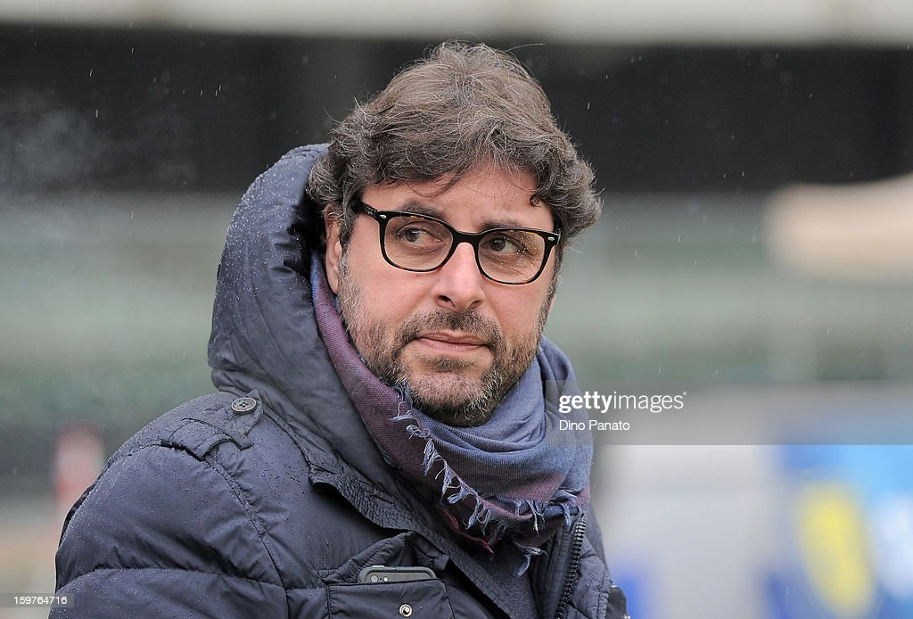 Pietro Leonardi, general manager of Parma FC looks on during the Serie A match between AC Chievo Verona and Parma FC at Stadio Marc'Antonio Bentegodi on January 20, 2013 in Verona, Italy.