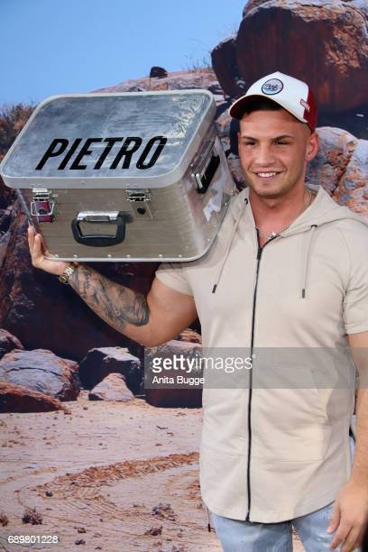 Pietro Lombardi attends the 'Global Gladiators' exclusive preview at Astor Film Lounge on May 29 2017 in Berlin Germany