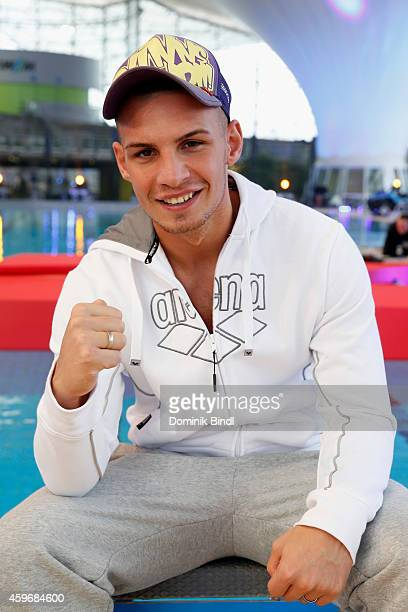 Pietro Lombardi attends the TV Total Turmpringen photocall on November 28 2014 in Munich Germany