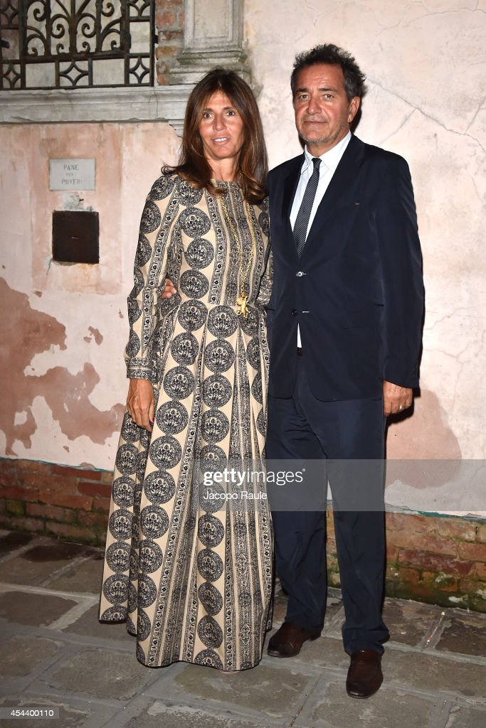 <a gi-track='captionPersonalityLinkClicked' href=/galleries/search?phrase=Pietro+Valsecchi&family=editorial&specificpeople=4835787 ng-click='$event.stopPropagation()'>Pietro Valsecchi</a> and Camilla Nesbitt attend 'The Humbling' premiere after party during the 71st Annual Venice Film Festival on August 30, 2014 in Venice, Italy.