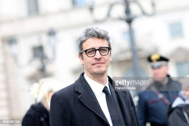 Pif arrives at the 61 David Di Donatello nominees presentation at Palazzo del Quirinale on March 27 2017 in Rome Italy