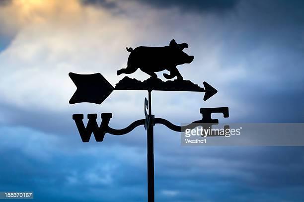 Weathervane de cochon