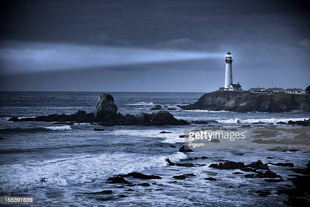 Phare de Pigeon Point-Unis, Big Sur, Californie