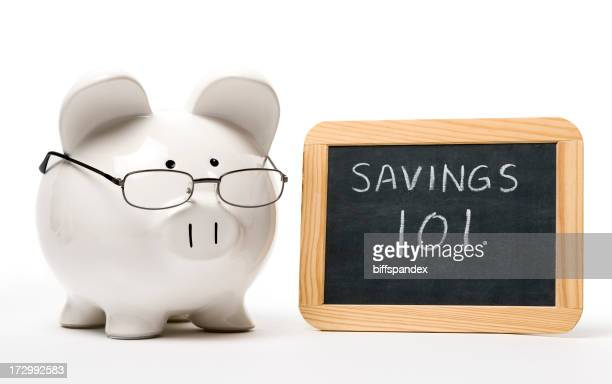 Piggy Bank Savings Lesson