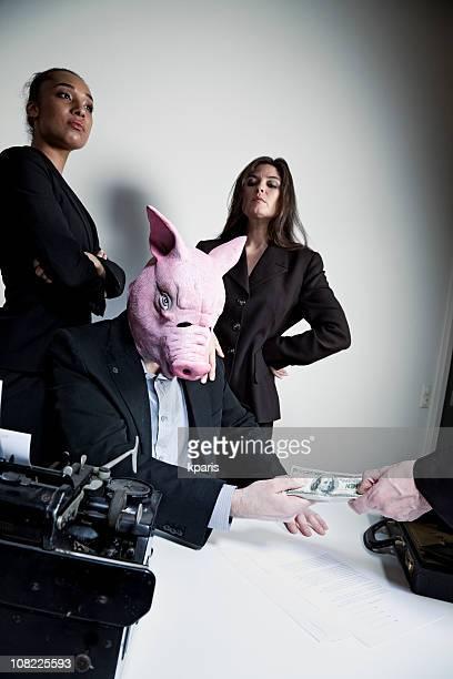 Schweinchen Business