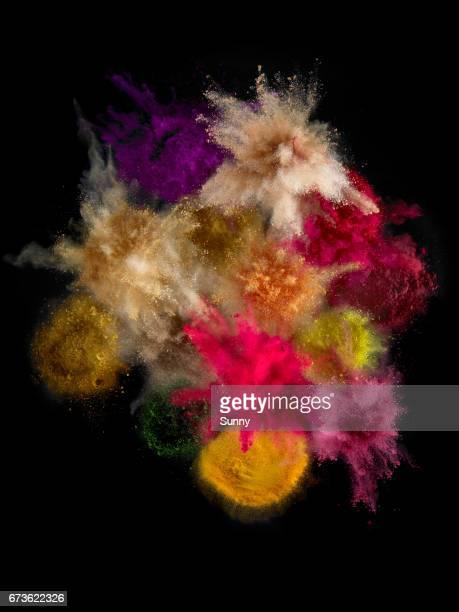 Pigment Explosions