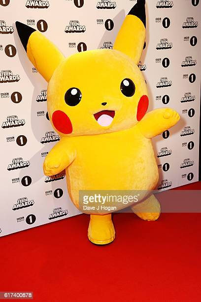 Pikachu attends the BBC Radio 1's Teen Awards at SSE Arena Wembley on October 23 2016 in London England